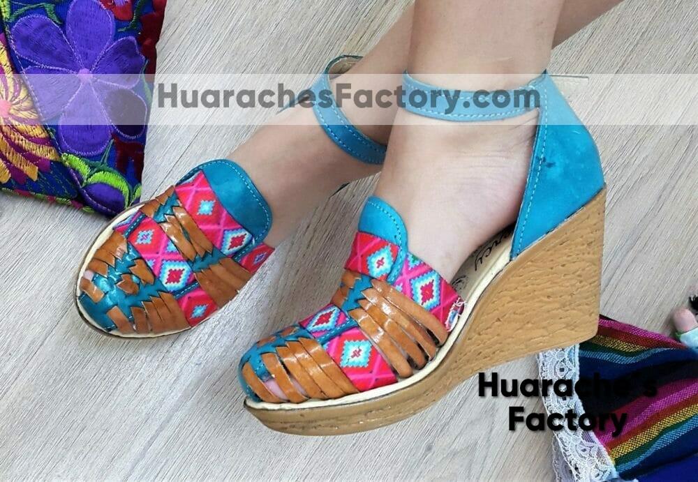 zj00043 Huarache mexicano zapato